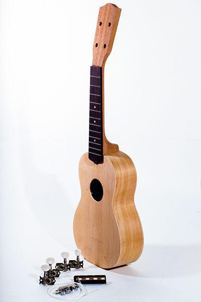 Ohana Soprano Ukulele Build-Your-Own KIT