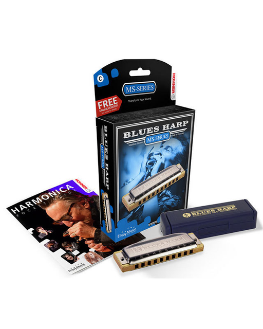 Hohner MS Series Blues Harp Harmonica