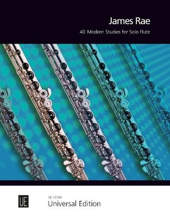 40 Modern Studies For Flute by James Rae