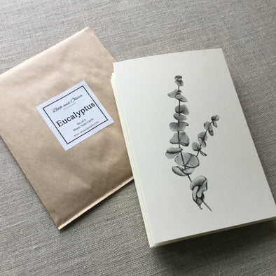 Set of 6 Eucalyptus Note Cards
