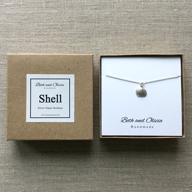 Silver Shell Necklace
