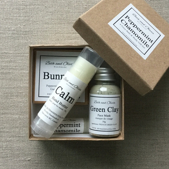 Peppermint Chamomile Gift Set