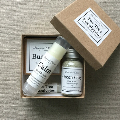 4 Piece Tea Tree Eucalyptus Gift Set