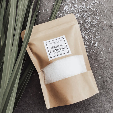 Ginger and Frankincense Bath Salts 450g