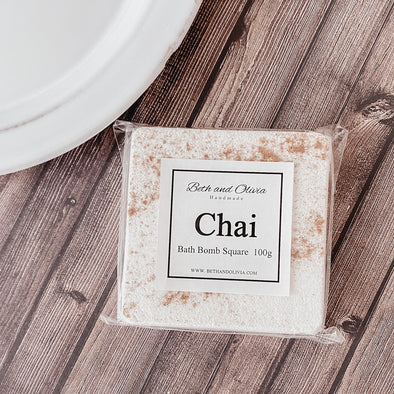 Chai Bath Bomb Square