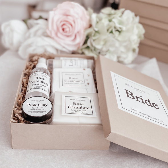 Bride Face & Body Care Gift Boxes