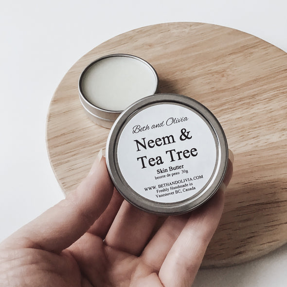 Neem & Tea Tree Skin Butter 30g