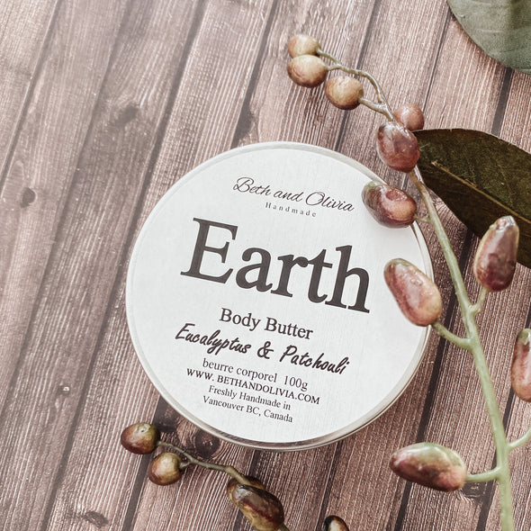 Earth Body Butter Tin 100g