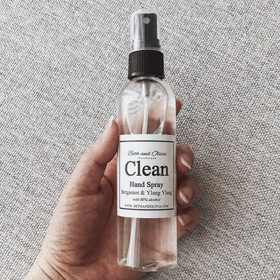 Clean Hand Spray with Bergamot & Ylang Ylang 115ml