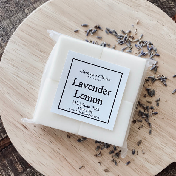 Lavender Lemon Mini Soap Pack