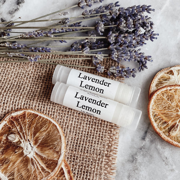 Lavender Lemon Lip Butter