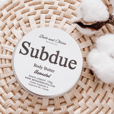 Subdue Body Butter Tin 100g