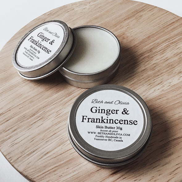 Ginger & Frankincense Skin Butter 30g