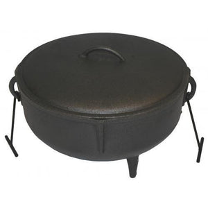 Cracklin Pot with Lid 5 Gallon