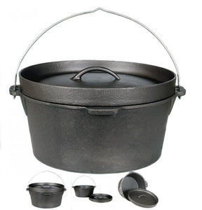 Cast Iron Pot 9qt