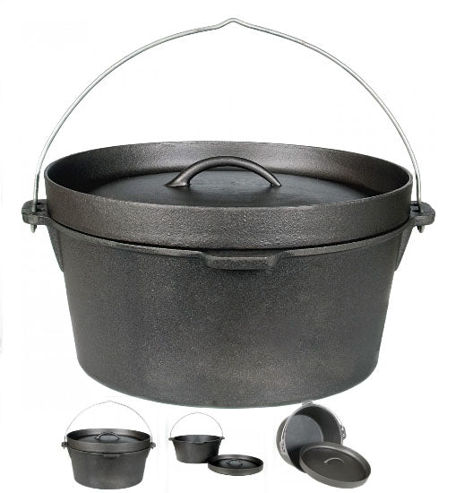 Cast Iron Pot 12 qt