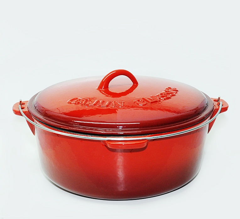 Dutch Oven Red Enamel 12qt