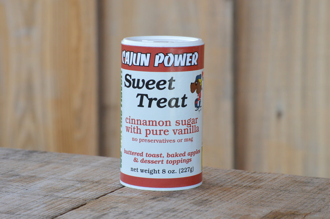 Cajun Power Sweet Treat Vanilla