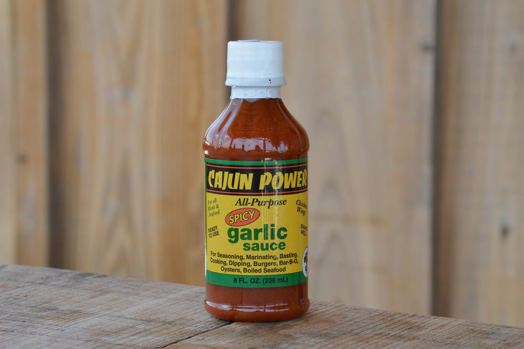 Cajun Power Garlic Sauce - Spicy