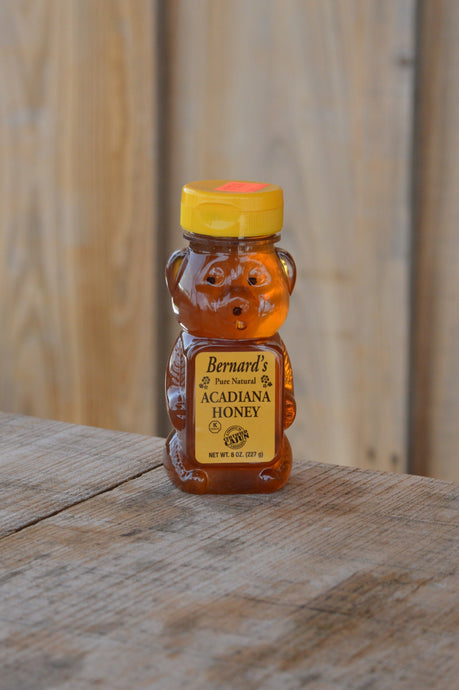 Bernard's Acadiana Honey 8 oz Bear