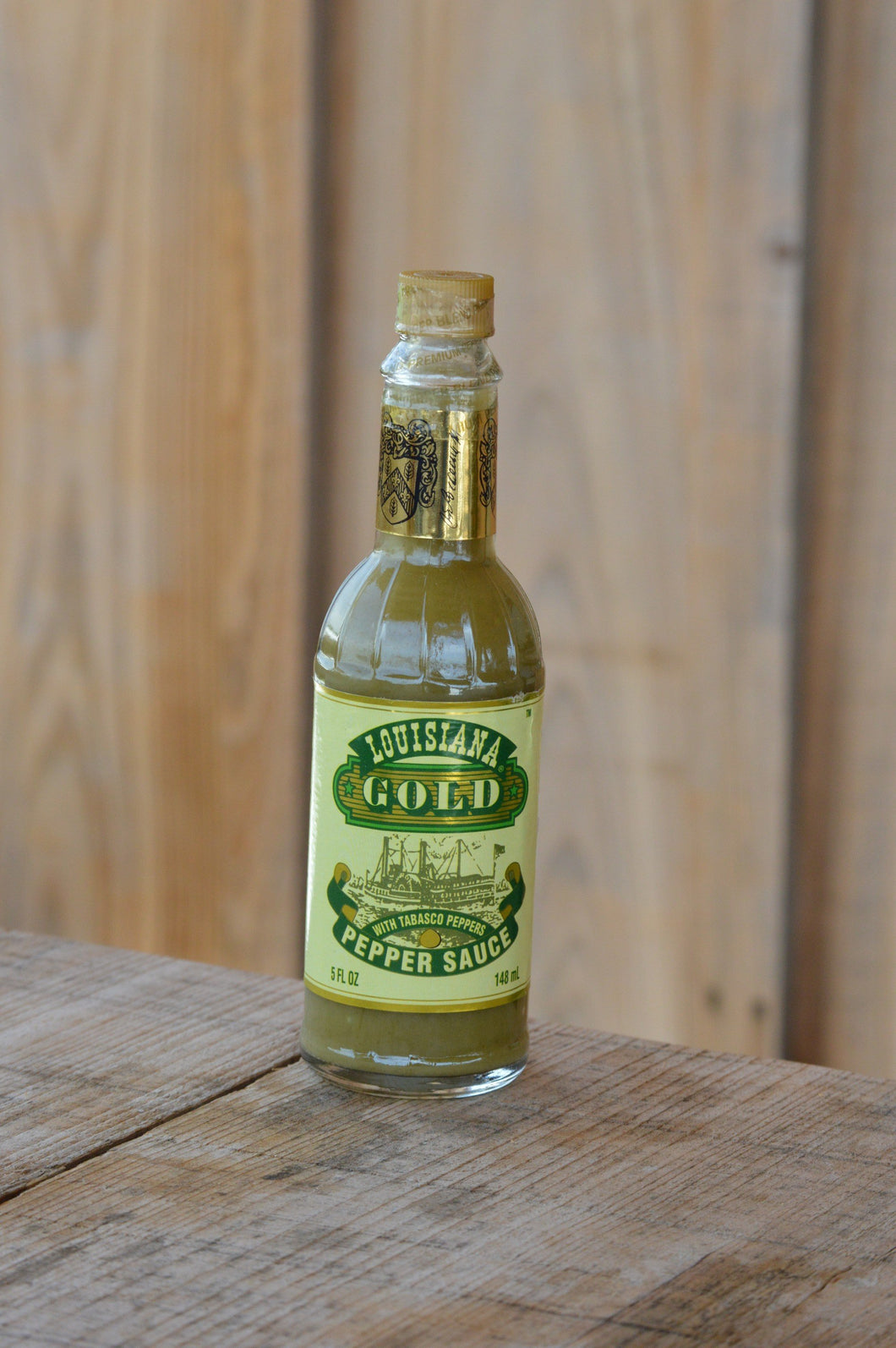 Louisiana Gold Green Pepper Sauce