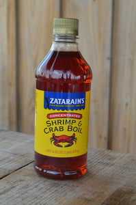 Zatarain's Crab & Shrimp Boil - Liquid Concentrated