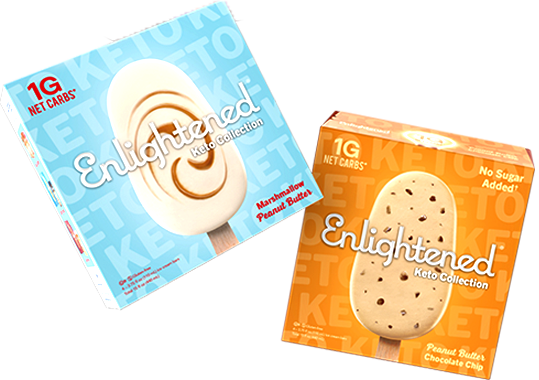 Enlightened Keto Ice Cream Bars