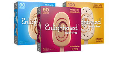Enlightened Dairy-Free Ice Cream Bar