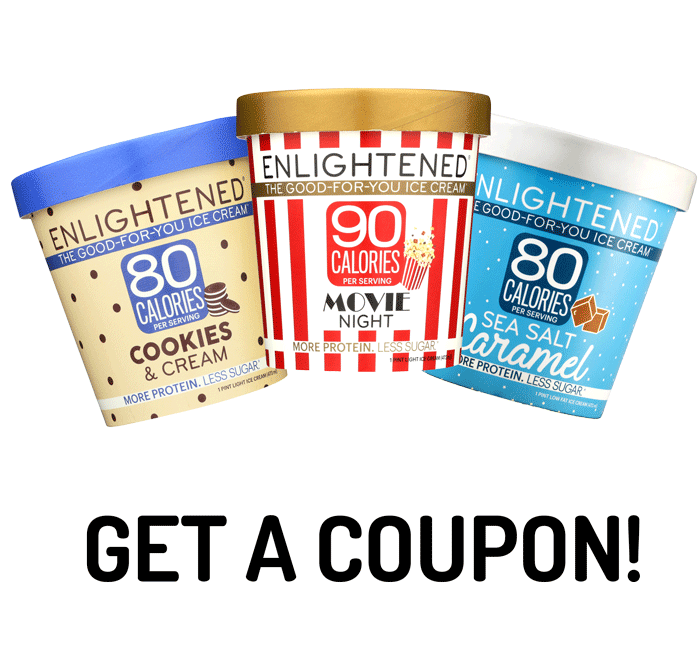 Get a Coupon for ENLIGHTENED Ice Cream