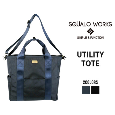 SQUALO WORKS スクアーロ ワークス UTILITY TOTE トートバッグ 2WAY SW-BL01-004