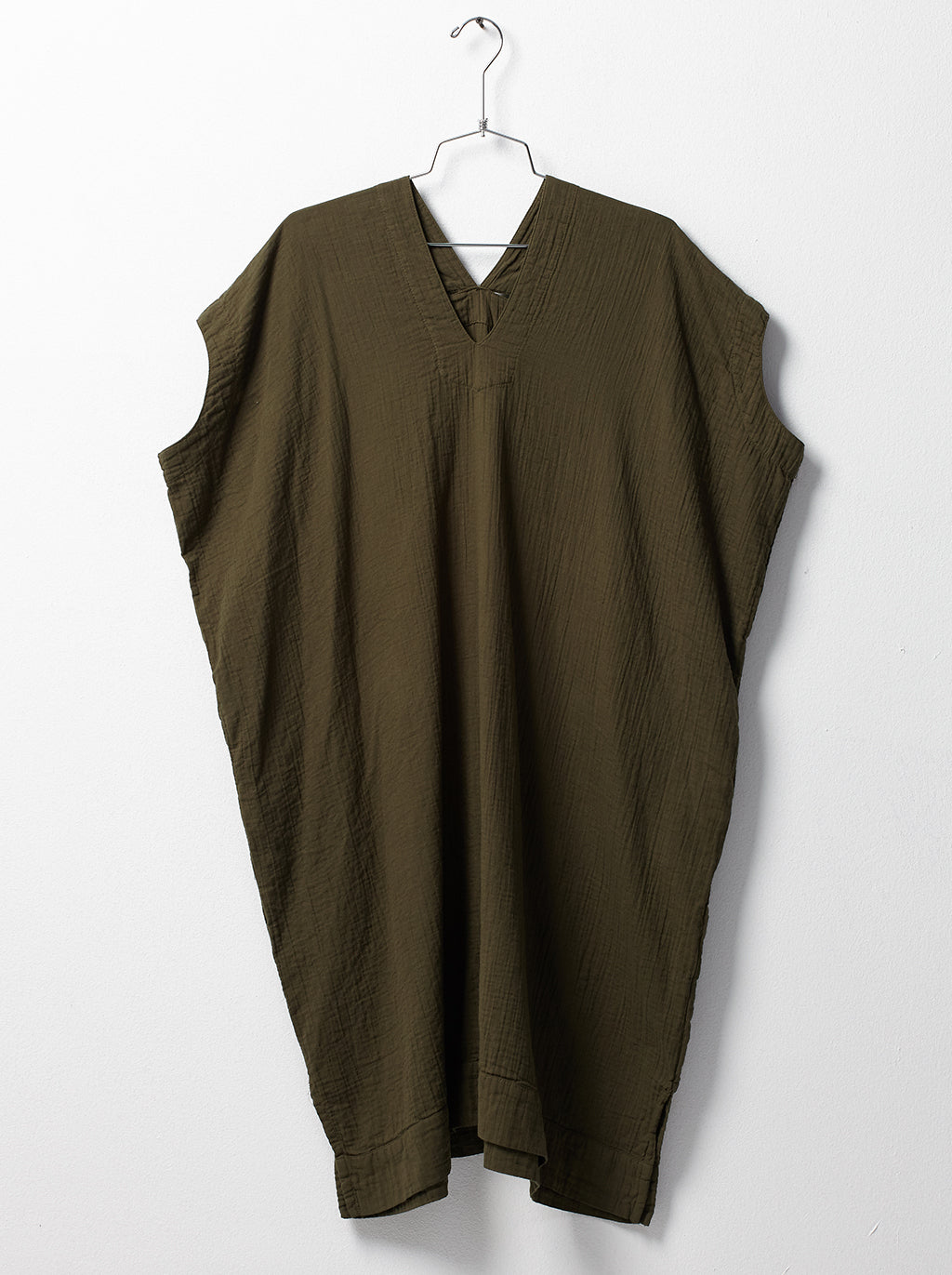 Crescent Dress - Hunter Green