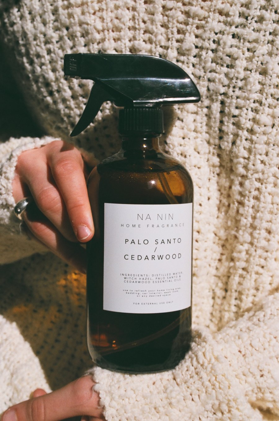 Palo Santo + Cedarwood Home Spray