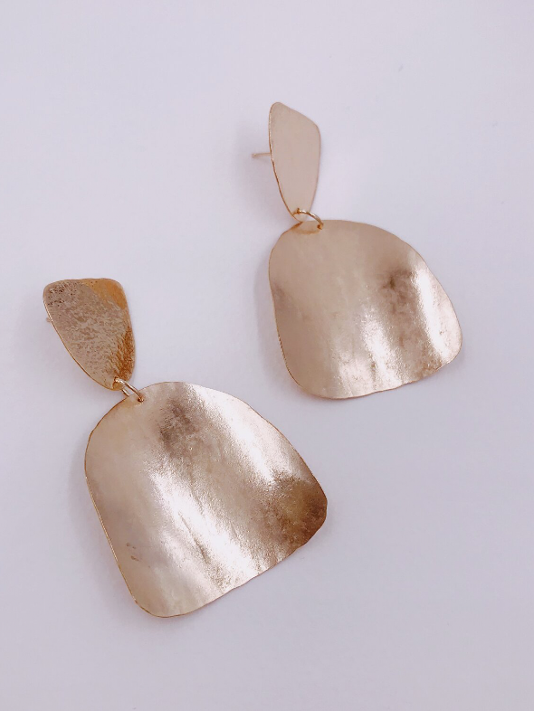 Lately Earrings in Brass