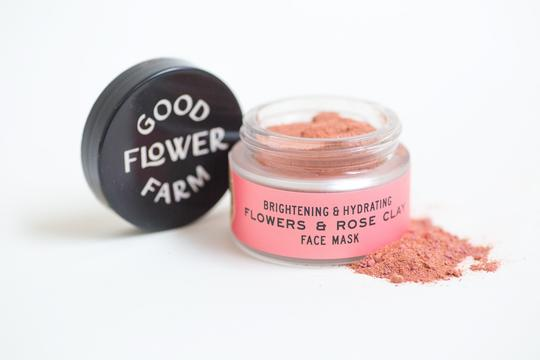 Flowers & Rose Clay Botanical Face Mask