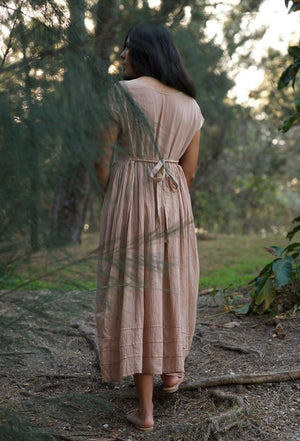 Cotton Dress in Desert