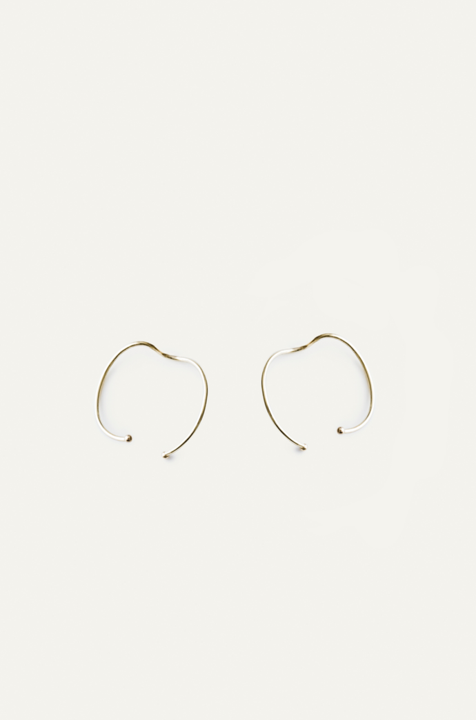 Small Moon Earrings