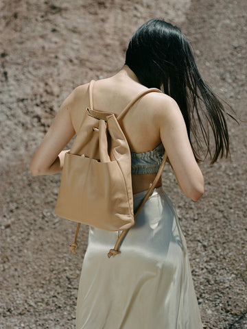 Lade Backpack in tan - Are Studio