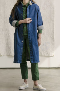 Carleen Harris Duster - Denim Blue