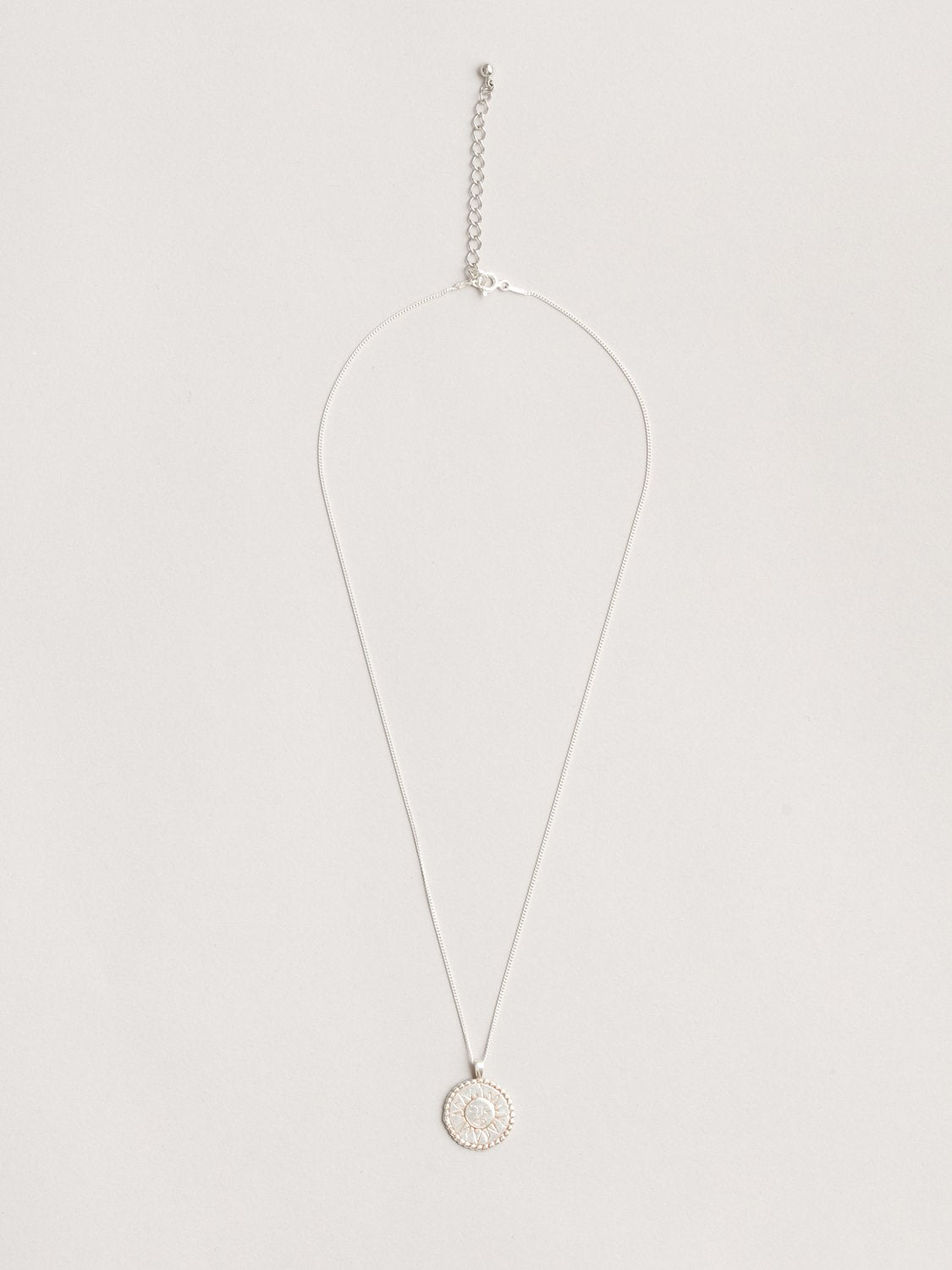 Lumen Necklace in Silver
