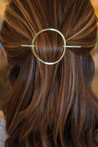 Brass Hair Slides