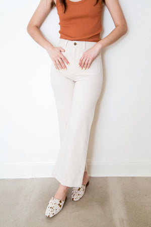 Sailor Jean in Ivory