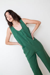 Everyday jumpsuit in green