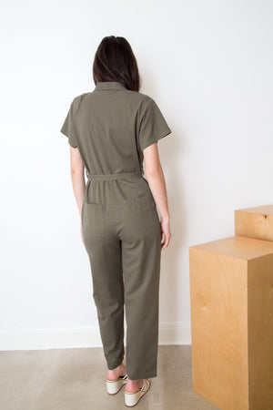 Cotton Twill Worksuit