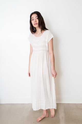 Natural Cotton Dress