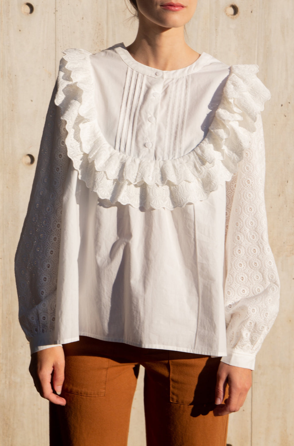 Poppy Blouse in Cotton