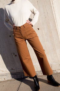 Simone Jeans in Almond