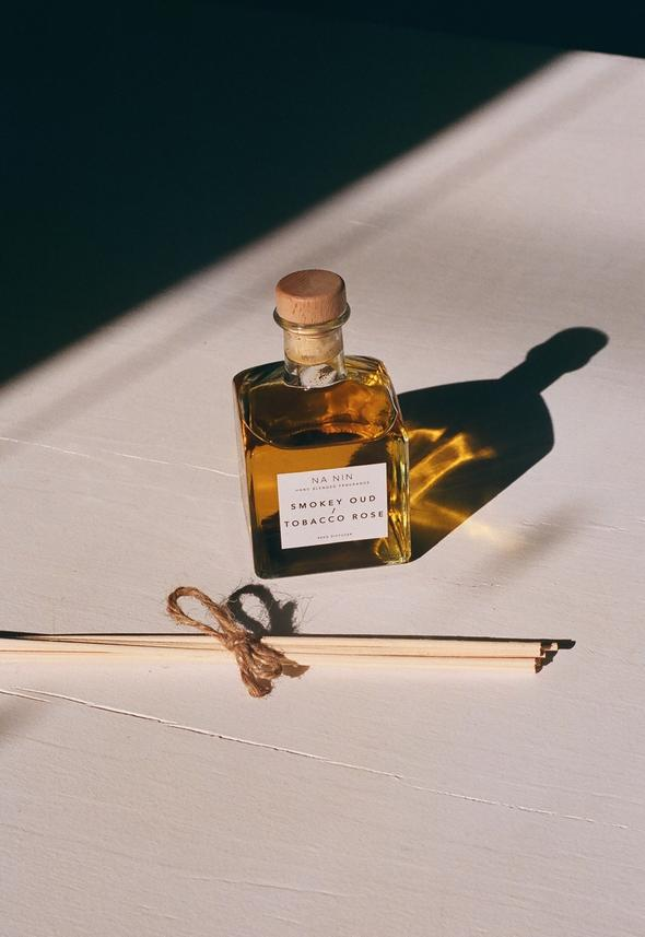 Smokey Oud / Tobacco Rose Reed Diffuser