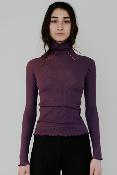 Oba ribbed turtle neck