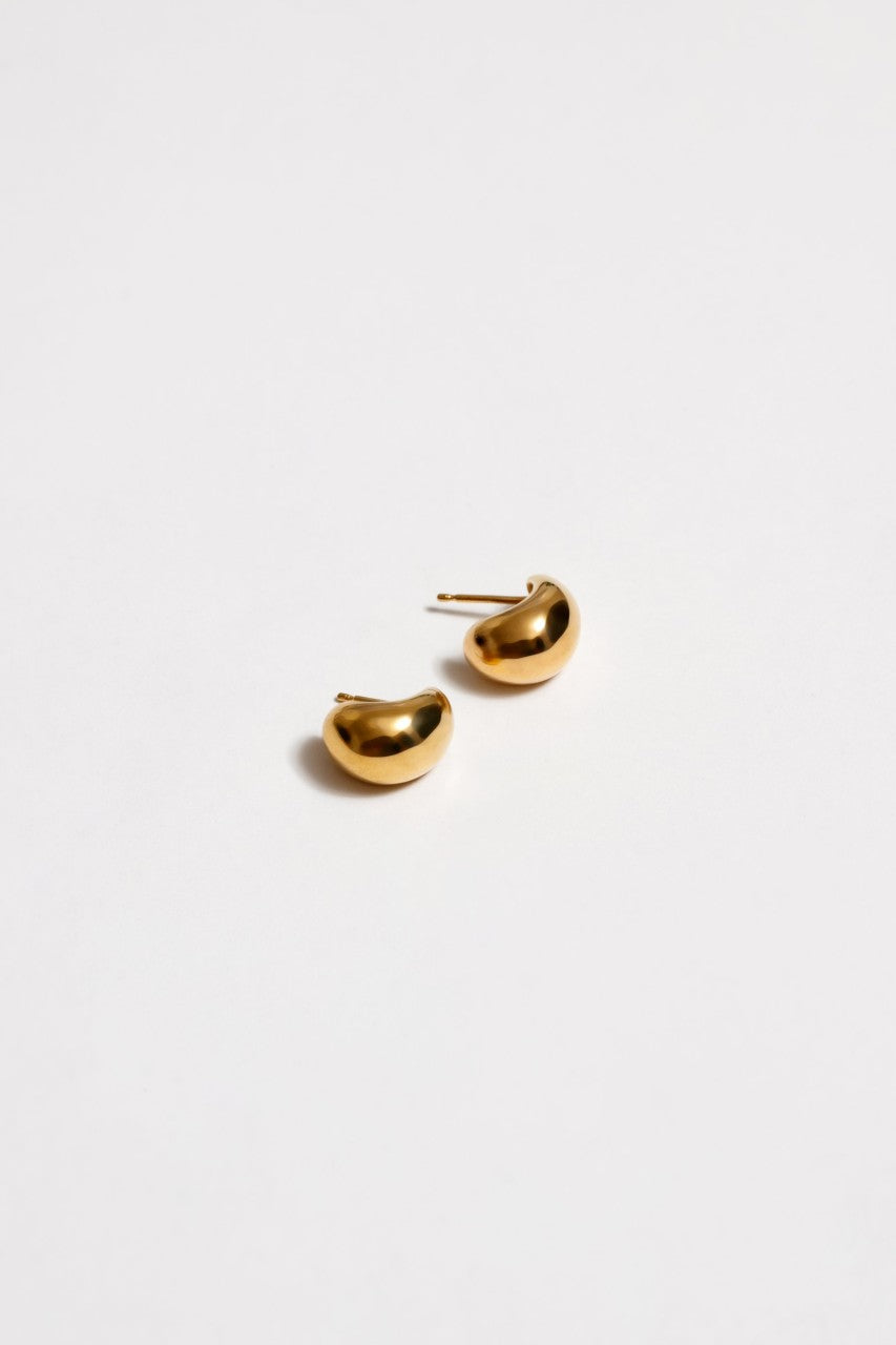 Small Remy Hoops in Gold