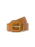 Ochre Leather Belt - Paloma Wool